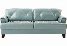 2014 de couro mobília da sala em forma de l sofá HDS1016