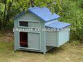 Lindo grande de madera pollo coop/paquete plano casa de pollo