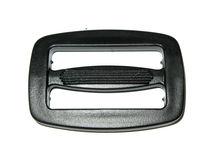 Plastic buckle, plastic regulator for belt
