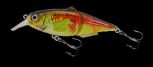 4 inch 2 section jointed crank bait fishing lure USA company paypal accepted