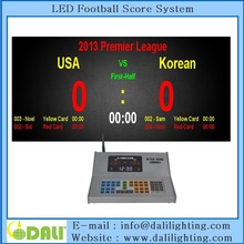 Easy operation full color minor league football scoreboard