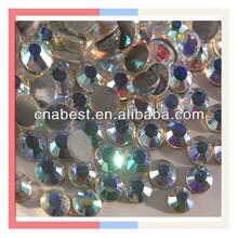 China Flatback Rhinestone ss16 CLear AB DMC custom rhinestone transfer Factory price