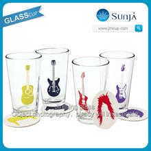 Manufuturer of glassware promotional funny beer glasses