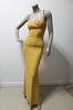 design of evening long dress