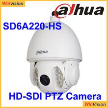 150m infrared distance HD-SDI PTZ Camera Dahua SD6A220-HS Standard HD-SDI high definition digital interface