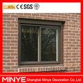 2014 venda quente de alumínio janela deslizante & perfil de alumínio janelas de correr com vidro temperado duplo janelas de correr