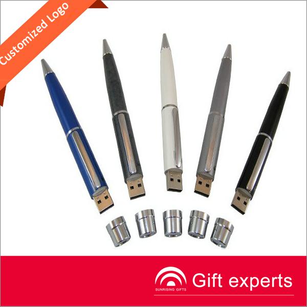 hot selling company gift pen usb flash pen drive 500gb