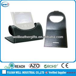 folding pu promotional mobile phone holder