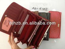 good quality popular design aluma wallet