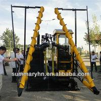 Crawler walking hydraulic drive reed/kenaf/jute harvester machine