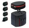 power plug with usb,mini power sockets 12V usb