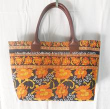 tropical kantha bags // Art Kantha Bags