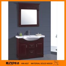 2012 newly design hot sale plywood bathroom cabinet