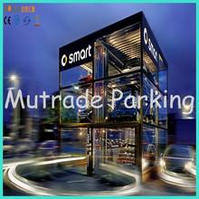 residential parking lot car stopper car parking system