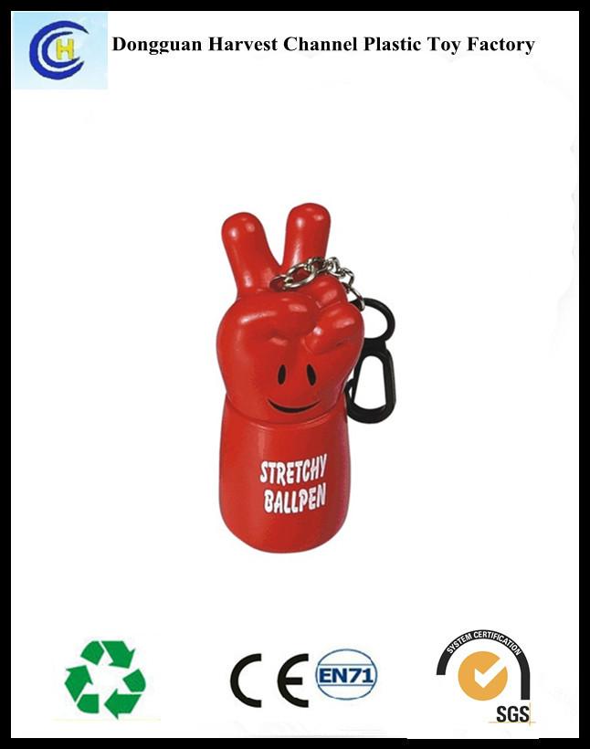 Novelty products promotional plastic logo cartoon ballpen