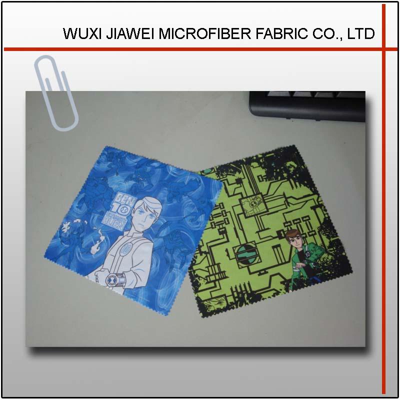digital printing microfiber glass cleaning cloth
