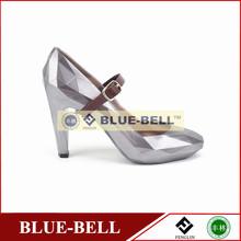 fashion girls high heels shoes 2014 silver high heels