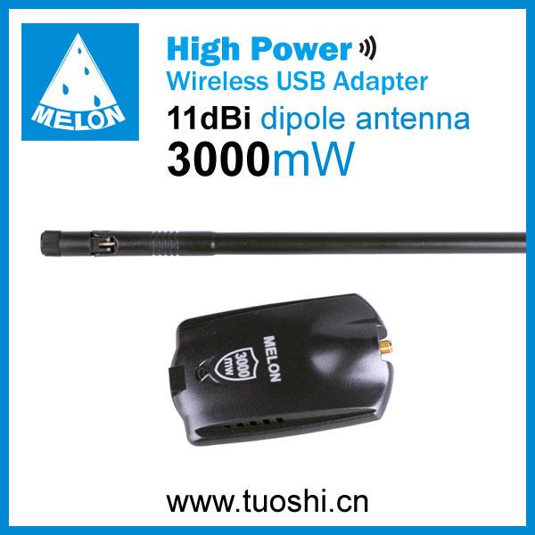ร่มwifiusbadapter, ชิปเซ็ตralink3070,150mbpsอัตราการส่ง, 2.4ghzของอินเตอร์เฟซประเภทusb2.0, rp- smaconnecter