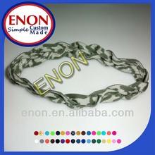 camo headband angel halo headband braided mini headband