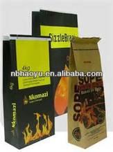 HY-K3066 2013 hot sale recycle papel kraft bolsas para carb&oacute