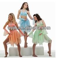 2014-girl team cool hot belly dance costume dress - dashing women ballet dancewear -child&adult kid ballet dance tutu skirt