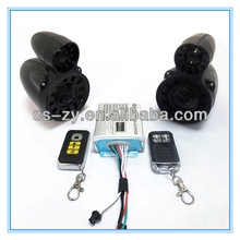 motorcycle fm radio/speaker waterproof motorcycle/radio remote control system