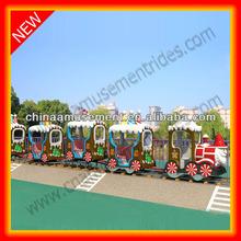 Children playground kids christmas santa train for sale