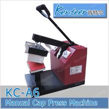 KC-A6 low price cap heat transfer press machine