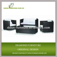 Powder coated steel outdoor furniture