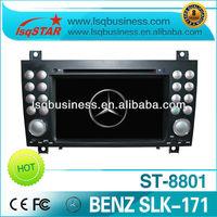 LSQ Star Mercedes Slk 171/ Slk 280 (2003-2011) Car Dvd With Gps Navigation St-8801 Hot Selling