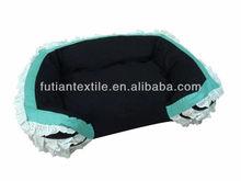 2014 European style tassel trim lounge pet bed,decroration pet bed