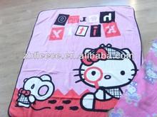 hello kitty printed coral fleece blanket
