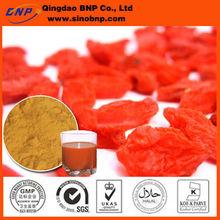 BNP Organic natural Goji dried berries Brix 16% 15% 36%