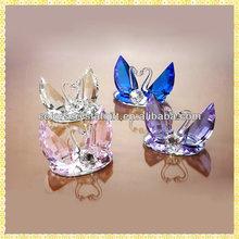 Handicraft Crystal Swan Wedding Favor For New Souvenirs