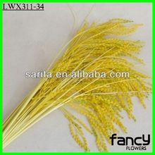 Single stem yellow artificial wheat