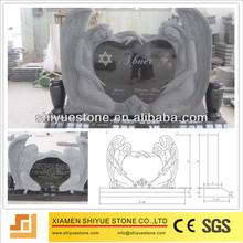 Chinese Black Granite Cheap Headstone
