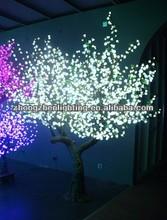 LED artificial peach blossom tree