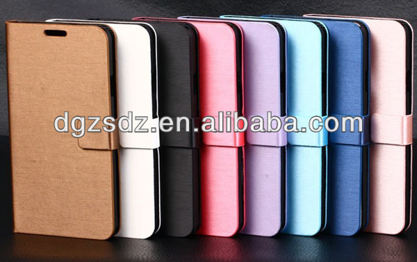 mobile phone leather case for sumsung galaxy s4