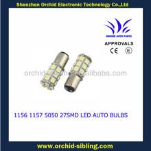 1156 1157 5050 27smd car led bulbs