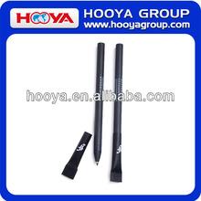 14.6cm Length Evironmental Black Paper Tube Ball Pen for Company Logo Advertisement