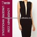 Fancy black joelho comprimento mini-barata l2673 vestidos