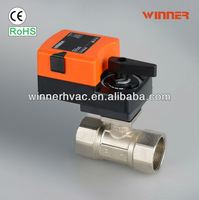EPDM&PTFE sealing motorized control ball valve