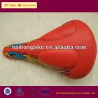 Red color bike saddle racing/road bike sale