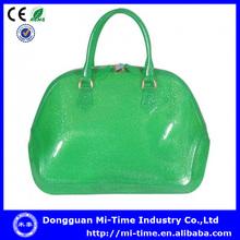 Designer shell color pvc women bags manufacturers Dongguan