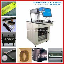 10w / 20W / 50w /100w code/ Logo / date /numbers /metal /pen/ PVC / steel fiber laser marking machine with computer