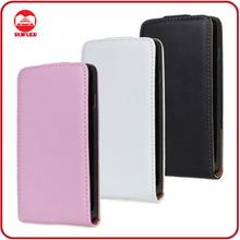 China Manufacturer Luxury 100% Genuine Flip Leather Case for LG P715 Optimus L7 ii