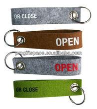 Customized Promotional Cute Felt Keychain Design - Cheap Polyester Felt Keychain - OEM Welcomed