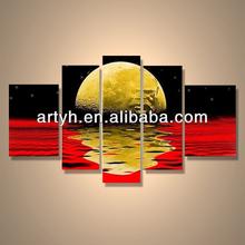Popular modern handpainted abstract wall art home decor