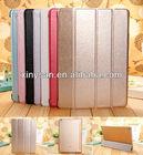 High Quality Super Slim Silk Smart wake/sleep cover case for ipad air/ipad 5