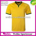2014 copa do mundo de futebol jersey futebol brasil uniforme camisa de futebol atacado modelo